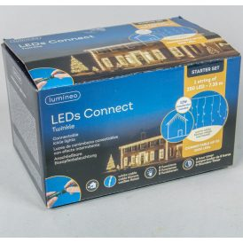 250 LED-es jégcsap adapteres meleg