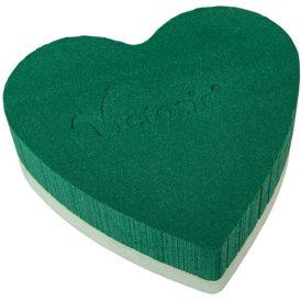 Tűzőhab szív Victoria 20cm