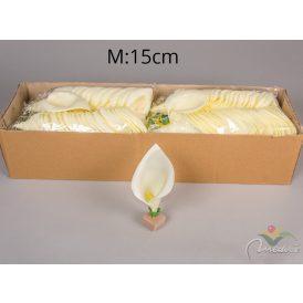 Kála virágfej polifoam nagy  Egész csomagra rendelhető!