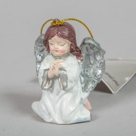 Imádkozó angyal akasztós poly  6cm