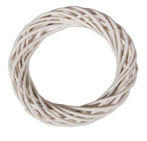 Vessző alap fehér D15cm