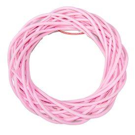 Vessző alap rózsaszín D25cm