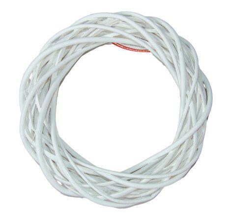 Vessző alap fehér 25cm