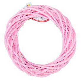 Vessző alap rózsaszín D20cm