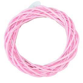 Vessző alap rózsaszín D30cm