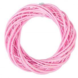 Vessző alap rózsaszín D35cm