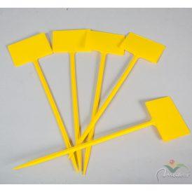 Műanyag ártábla sárga 33cm5db-os