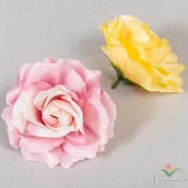 Nyílt rózsa virágfej 12db/szín/csom Egész csomagra rendelhető!
