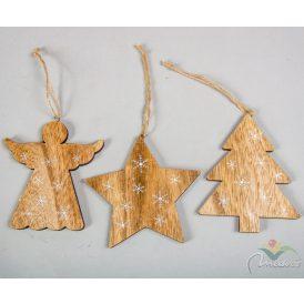 Akasztós fa dísz 10cm