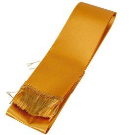 Koszorú szalag 7x200cm arany-arany 2db/csom (db ár)