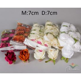 Rózsa virágfej 12db/szín/csom Egész csomagra rendelhető!