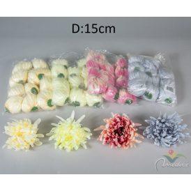 Krizantém fejvirág 12db/szín/csom Egész csomagra rendelhető!