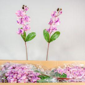 Orchidea szálas M75cm t.t. purple 144db/#