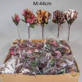 Bogyós pick M44cm 6db/szín/csom