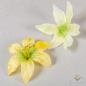 Liliom virágfej D13cm 24db/szín/csom