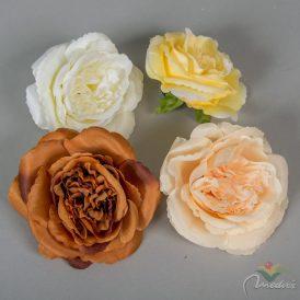 Rózsa fejvirág nyílt 12db/csom (db ár) 120db/karton Egész/fél kartonra rendelhető!