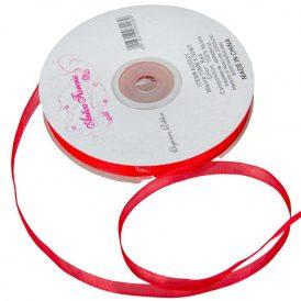 Organza szalag Red 10mmx50m