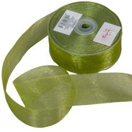 Organza szalag Green 40mmx50m