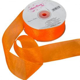 Organza szalag Orange 40mmx50m