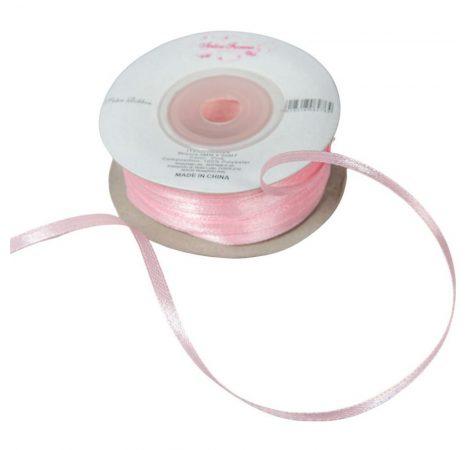Szatén szalag Pink 3mmx50m