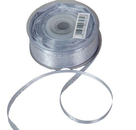 Szatén szalag Silver 3mmx50m