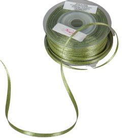 Szatén szalag Spring Moss 3mmx50m