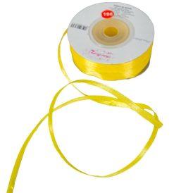 Szatén szalag Yellow 3mmx50m