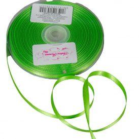 Szatén szalag Apple Green 6mmx50m