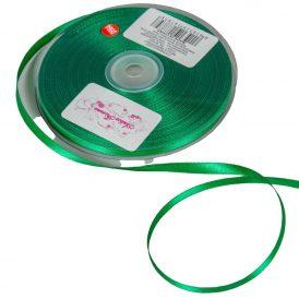 Szatén szalag Dark Green 6mmx50m