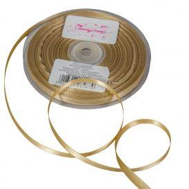Szatén szalag Gold 6mmx50m