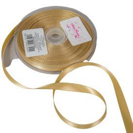 Szatén szalag Gold 10mmx50m