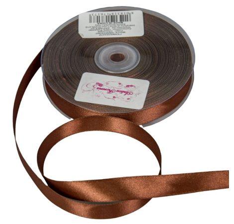 Szatén szalag Chocolate 16mmx50m