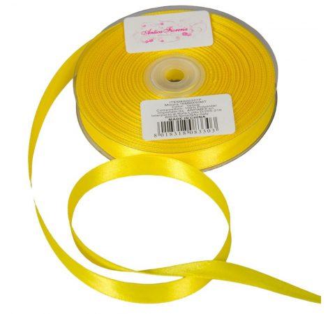 Szalag szatén Yellow 16mmx50m