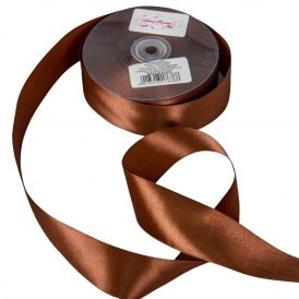 Szatén szalag Chocolate 38mmx50m