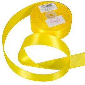 Szatén szalag Yellow 38mmx50m
