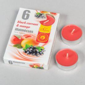 Illatmécses black currant és mangó 6db-os