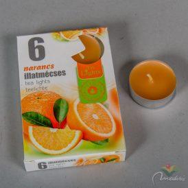 Illatmécses narancs 6db-os