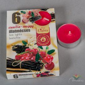 Illatmécses vanilia-meggy 6db-os