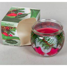 Poharas illatmécses karácsonyi ALMA-FAHÉJ