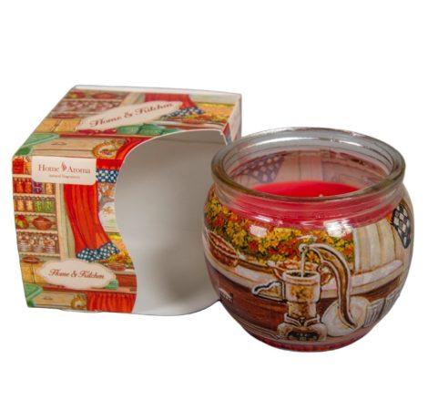 Poharas illatmécses konyha illata 6x7cm