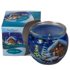 Poharas illatmécses karácsony éjszaka 6x7cm
