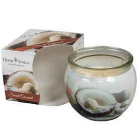 Poharas illatmécses kókusz 6x7cm