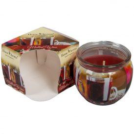 Poharas illatmécses forralt bor 6x7cm