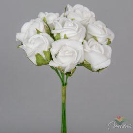 Polifoam mini rózsa csokor 8v. 48db/karton Egész/fél kartonra rendelhető!