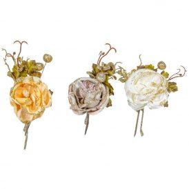 Glitteres rózsás pick 14cm
