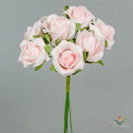 Polifoam rózsa csokor 8v. M17cm 48db/#