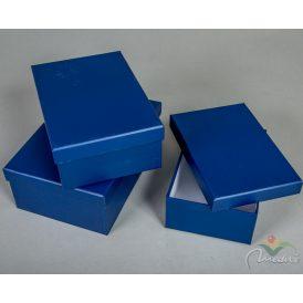 Papír doboz tégla alakú D24,22,20cm 3db-os