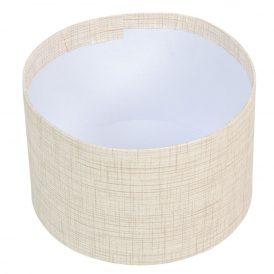 Papír doboz barna mintás D16cm M10cm