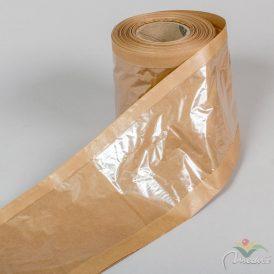Ablakos kraft csomagoló papír tömlő 18cm x 50m