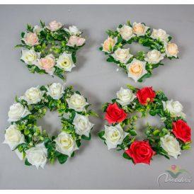 Rózsa koszorú 26cm